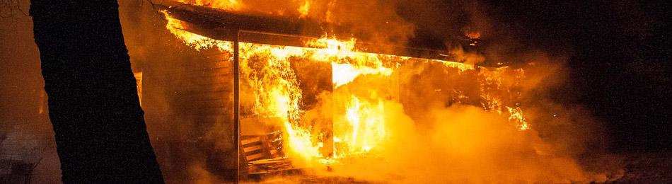 Großbrand Behrensdorf